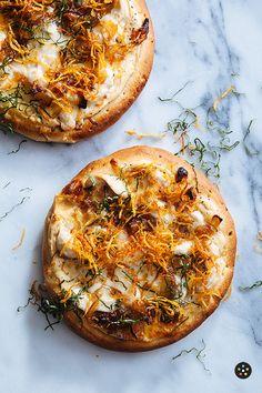 Chicken Gorgonzola Pizza. #food