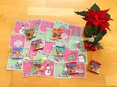 Materialwiese: Grußkärtchen für die Weihnachtsferien