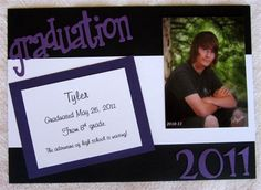 Stationery Graduation Announcements