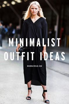 8 stylish outfit ideas that'll have you going minimalist