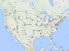 Scientist Computes the Best American Road-Trip Route http://www.people.com/article/best-american-roadtrip-fifty-states-science
