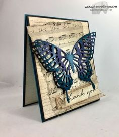 Stampin' Up! Bits, Backgrounds and Butterflies Thank You | Stamps – n - Lingers