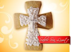 Cross Cookies, Theme Cakes, Sugar Cookies, Gingerbread Cookies, Desserts, Wedding, Character, Beautiful, Food