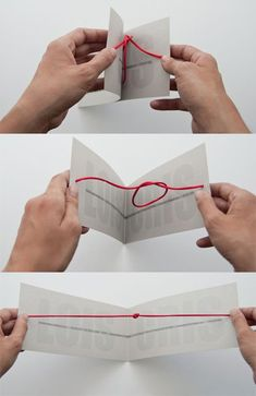 Tying the knot wedding invitation. Not tying the knot anytime soon but would be cool to learn.