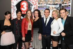 Xenia Goodwin, Alicia Banit, Dena Kaplan, Tom Green, Jordan Rodrigues, Tim Pocock and Tara Morice for Dance Academy