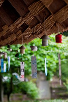 Japanese wind chime - little chimes to DIY / upcycle with all sorts of bits and bobs Japanese Style, Japanese Art, Geisha, Japanese Wind Chimes, All About Japan, Nihon, Japanese Culture, Art Plastique, Wabi Sabi