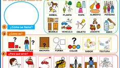 GUÍA PARA TRABAJAR LAS DESCRIPCIONES Comics, Therapy, Teaching Spanish, Autism Activities, Educational Activities, Pecs Pictures, Bebe, Comic Book, Comic Books