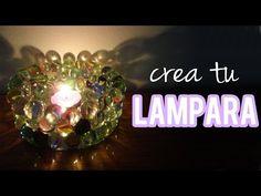Decora tu cuarto - haz tu lámpara, fácil - Tutoriales Belen - YouTube