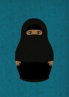 Matryoshka - Burka