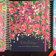 NEVER USED Lilly Pulitzer 2016 planner/ agenda Brand new never used wild confetti!! Make an offer!! Lilly Pulitzer Accessories
