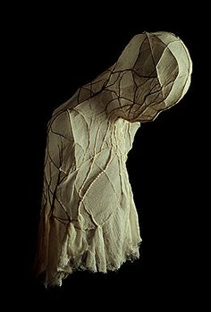 Mantle - Beth Krebs (gauze over wire)