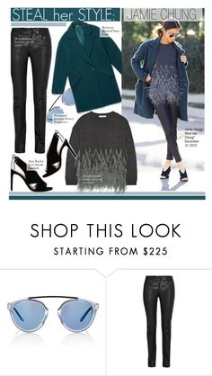 """Steal Her Style-Jamie Chung"" by kusja ❤ liked on Polyvore featuring Westward Leaning, Helmut Lang, Rebecca Minkoff, Elizabeth and James, Ann Taylor, BloggerStyle, Stealherstyle, celebstyle and jamiechung"