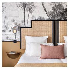 Bedroom hotel inspiration bedding Ideas for 2019 Headboard Designs, Hotel Bedroom Design, Modern Hotel Room, Hotel Interiors, Bedroom Hotel, Hotel Room Design, Hotel Style Bedroom, Hotel Decor, Interior Design Bedroom