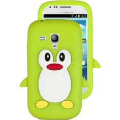 HHI Silicone Skin Case for Samsung Galaxy S3 Mini - Green Penguin (Package include a HandHelditems Sketch Stylus Pen) by HandHelditems. $4.15. This premium skin case provides your Samsung Galaxy S3 Mini the maximum protection against scratches and scuffs, enabling you to keep your Samsung Galaxy S3 Mini in a new condition and preserving its looks and features. Made with grade A silica gel, this case is not only durable, but also equips the Samsung Galaxy S3 Mini with a so...