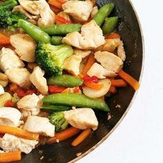 Dustin's Stir Fry | 19 High-Protein Dinners Under 550 Calories You'll Actually Want To Eat - BuzzFeed News