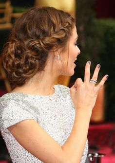maria menounos hair 2014 academy awards