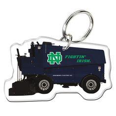 Notre Dame Fighting Irish WinCraft Premium Zamboni Keychain - $7.99