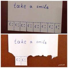 take a smile#ξεκίνημα της μέρας με χαμόγελο