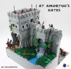At Amortug's Gates | (Legoworld Copenhagen countdown: 4 week… | Flickr