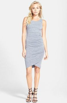 Cute! Women's Leith Ruched Body-Con Tank #Dress fashion