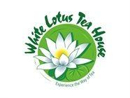 White Lotus Tea House logo. Food & drink logos. Customer logos. Logo design.