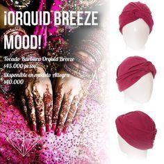 Orchid Breeze Mood Turbante Allegra y Bárbara Orchid Breeze #Turban #Turbante #Cancer #Fashion