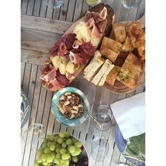 Tonight's dinner.  Featuring Moccia&Urbani craftdried salami prosciutto piave cheese fresh local figs. by urbanifoods