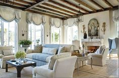 James Howard living room - from Cote de Texas