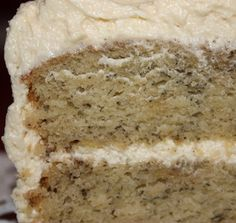 Another Pinner says - Banana cake recipe: Incredible cake recipe with amazing frosting - Pittsburgh Food | Examiner.com