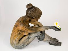 Wood Sculptures that are Actually Made of Ceramic by Christopher David White.