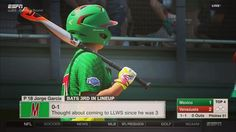 @demarini getting a little love from #mexico during the #llws. #bpweather #breakingtherules