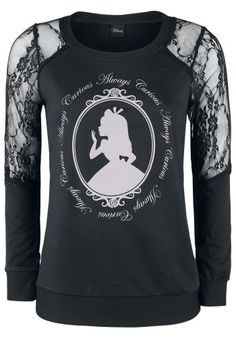 Always Curious - Sweatshirts van Alice In Wonderland