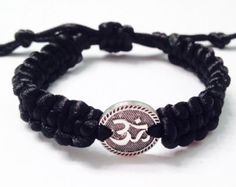 CUBIC Men's Beaded Bracelet Men's Shamballa by CruxCrystals