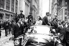 1960. 19 Octobre. Jackie et Jack. New York