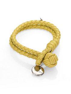 Bottega Veneta - Woven Leather Bracelet