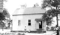 Florida Memory - Rural Bay County school