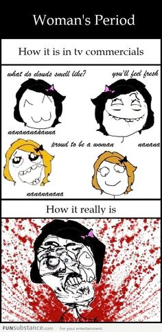 Woman's Period Feeling