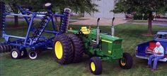 John Deere 4520 Kinze Repower