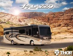 2015 Palazzo Motorhomes: Class A Diesel RV by Thor Motor Coach