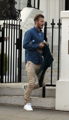 street style ,David Beckham