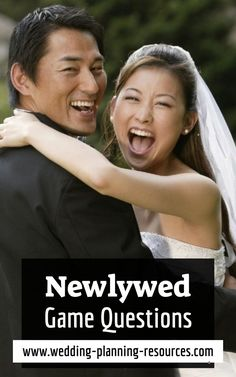 Let's have fun! Newlywed Game Questions. What better way to have fun and show your personality and share your stories with your guests than by playing the newlywed game? Including this game in your wedding entertainment plan might get you the well-engaged guests you are looking for! Guests that are set to get involved and party!