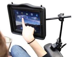 i pad mounting device>>> See it. Believe it. Do it. Watch thousands of spinal cord injury videos at SPINALpedia.com