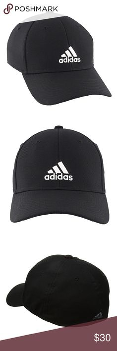 Adidas Rucker Stretch Fit Baseball Cap for Men ✨Color: Black / White ✨Available Sizes: -SMALL / MEDIUM -LARGE / EXTRA LARGE  ✨FEATURES: -Low crown and adjustable back closure for best fit -The Climalite moisture-wicking sweatband is included for dry, cool comfort -Breathable, stretchy performance fabric for best fit during any activity -100% Polyester  NEW with tag ! Thanks for shopping @toowendy ! 😊 Adidas Accessories Hats