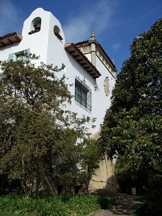Window grill, Santa Barbara-County Courthouse Spanish House, Spanish Colonial, Iron Balcony, Window Grill, Santa Barbara County, Colonial Style Homes, Charming House, Interior And Exterior, Houses