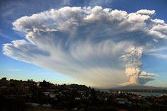 Este volcán había estado inactivo durante 43 años. | Las impresionantes imágenes de la erupción del volcán Calbuco en Chile y Argentina