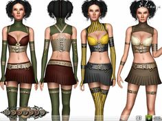 ekinege's Fratres - Steampunk Couture - Set99