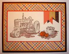 Award-winning Harvest by NaomiW - Cards and Paper Crafts at Splitcoaststampers