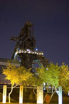 Old Steel Mill at Fundidora de Acero de Monterrey, Mexico