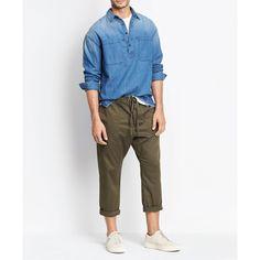 Men's Drawstring PantsFatigue