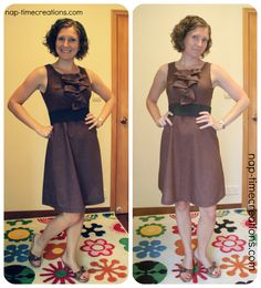 So…When I saw this Free Pattern sew along on Project Sewn…. I dropped the project I was working on…printed this pattern, grabbed some fabric and sewed this little dress up! I really don't sew for myself very often… I made a tunic this summer, but other than that its been awhile… I am really …
